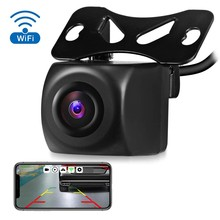 Wireless Car Rear View Camera Hd 720P Wifi Reversing Camera Dash Cam Hd Mini Body Tachograph for Iphone and Android(China)