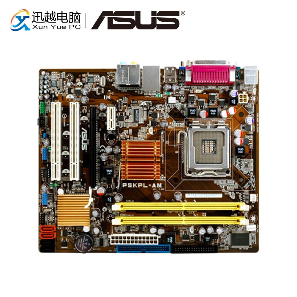 Asus P5KPL-AM Desktop Motherboard G31 Socket LGA 775 For Core 2 Extreme DDR2 4G SATA2 USB2.0 VGA UATX Original Used Mainboard
