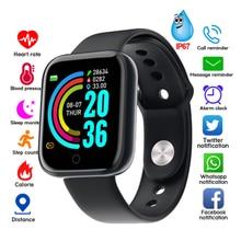 Y68 Bluetooth Waterproof Digital Smart Watches Men Women Kid