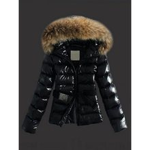 Slim Plain Faux Fur PU Coat Fur collar Leather Coat thick 2019 Winter Warm Jacket Women Leather Coat Female Overcoat Plus Size faux fur collar zip up pu leather padded coat