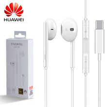 HUAWEI oortelefoon USB Type C CDLA oortelefoon headset Originele HUAWEI P20 P30 Mate 10 20 30 Pro RS Compatibel voor xiaomi 8 9