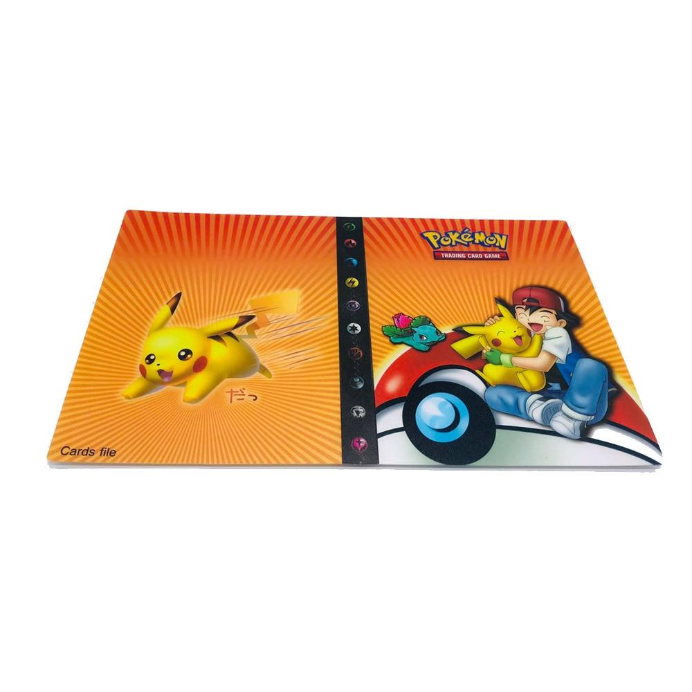 240 шт. держатель Альбом игрушки коллекции pokemones карты Альбом Книга Топ загруженный список игрушки подарок для детей - Цвет: 11
