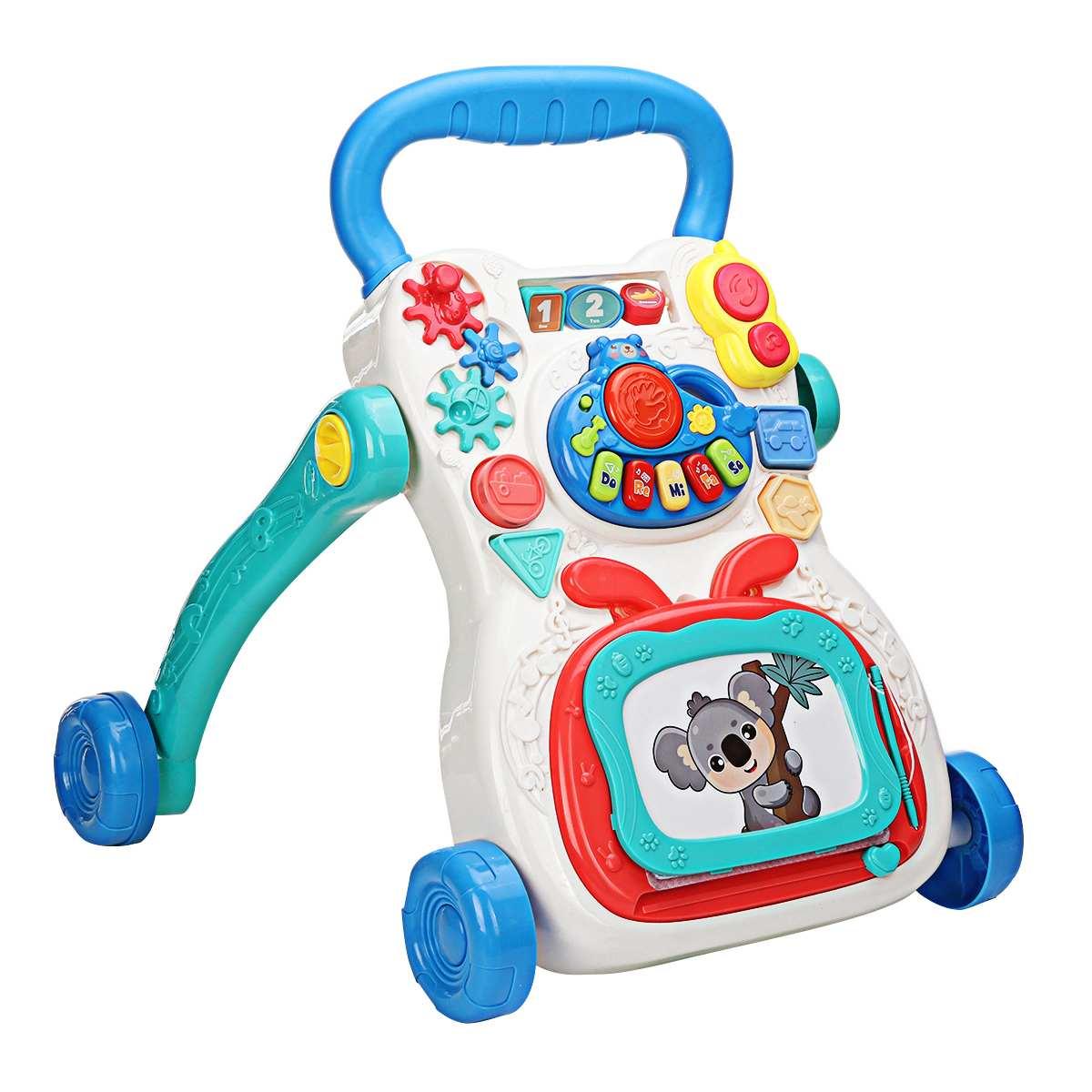 carrinho com 4 rodas, brinquedo educacional para caminhar