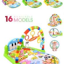 Kid Rug Toy Carpet-Piano Game-Pad Keyboard Play-Mat Music-Rack Puzzle Crawling Gym Infant