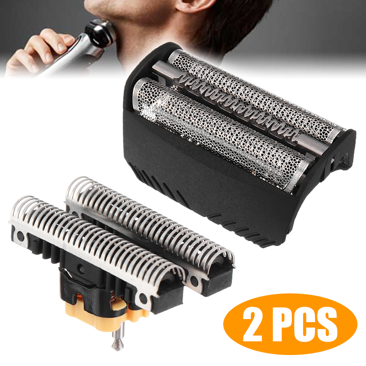 1 Set Shaver Shaving Head Shearing Foil 30B For 310 330 Series 3 7000 4000 Shaving Head Parts Personalcare