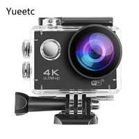 Outdoor Sports 4K kamera akcji 1080P WIFI 30m wodoodporny profesjonalny aparat fotograficzny go pro kask podwodny Sport Surfing Cam