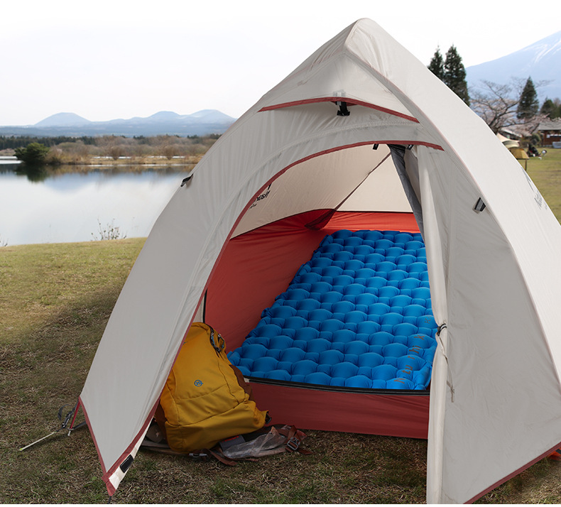 Naturehike dobrável portátil ultra-leve colchão inflável acampamento