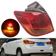 DWCX Car Left Outer Tail Light Brake Lamp Fit For Mitsubishi Outlander Sport ASX RVR 2011-2013 2014 2015 2016 2017 2018 2019 lsrtw2017 leather car trunk mar cargo liner for mitsubishi outlander sport asx rvr 2011 2012 2013 2014 2015 2016 2017 2018 2019