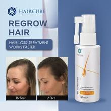 Спрей для роста волос Haircube, эссенция, эфирное масло, жидкое Восстанавливающее Средство, продукт против выпадения волос, сыворотка для быстр...