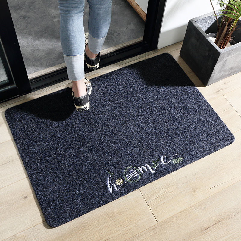 Indoor Doormat Scrape Wear Resistant and Dust Proof Non Slip Door Mat for Front Door Inside Floor Dirt Trapper Entrance Rug image