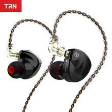 TRN BA8 16BA Fahrer Einheit In Ohr Kopfhörer 18 Ausgewogene Amarture HIFI DJ Monitor Kopfhörer Earbuds Mit QDC Kabel TRN VX V90 T200