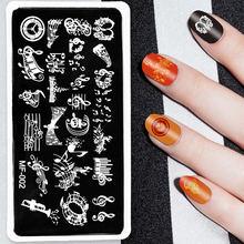 1 шт пластина для стемпинга ногтей 12 х6 см