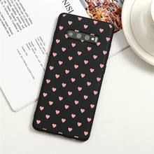 Love Heart Color Phone Case For Samsung Galaxy A50 A40 A70 A51 A71 A41 A31 A21S A11 A7 A9 A6 A8 Plus 2018 Soft TPU Couple Case