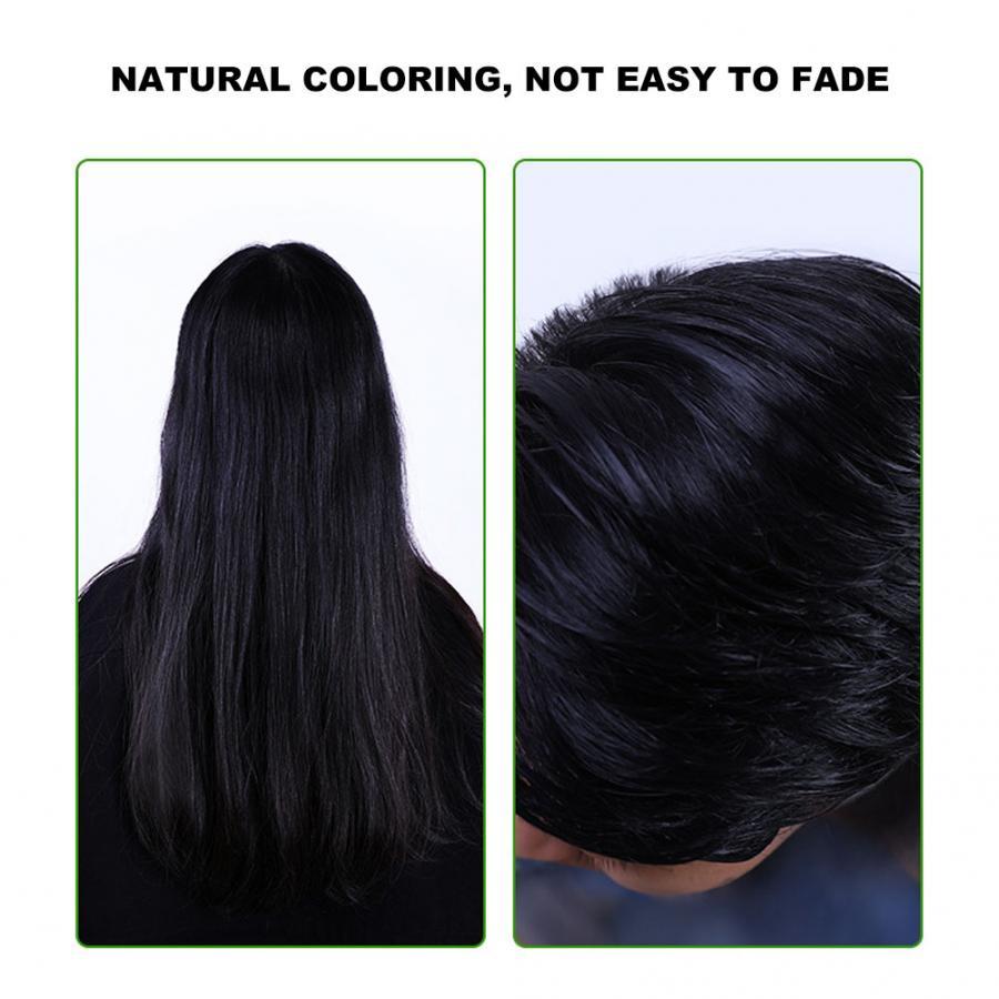Shampoo 400ml natural planta cabelo preto shampoo
