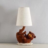 Industrial Style Nordic Minimalist Creative Bar LED Lamp Lamp Living Room Bedroom Bedside Gift For Children Dog Lamp