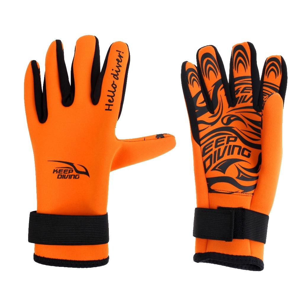 2mm Neoprene Skid-proof Scuba Water Sports Swmming Diving Wetsuit Gloves Neoprene Snorkeling Gloves