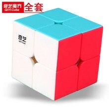 [XMD Rubik's Cube Summary] [второй заказ просветления] 2 заказа цветной шестицветный магический куб для начинающих развивающая игрушка
