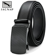 JACNAIP Hot Selling Genuine Leather Belt For Men Business And Leisure Automatic Alloy Buckle,New arrived Luxury Men Belts