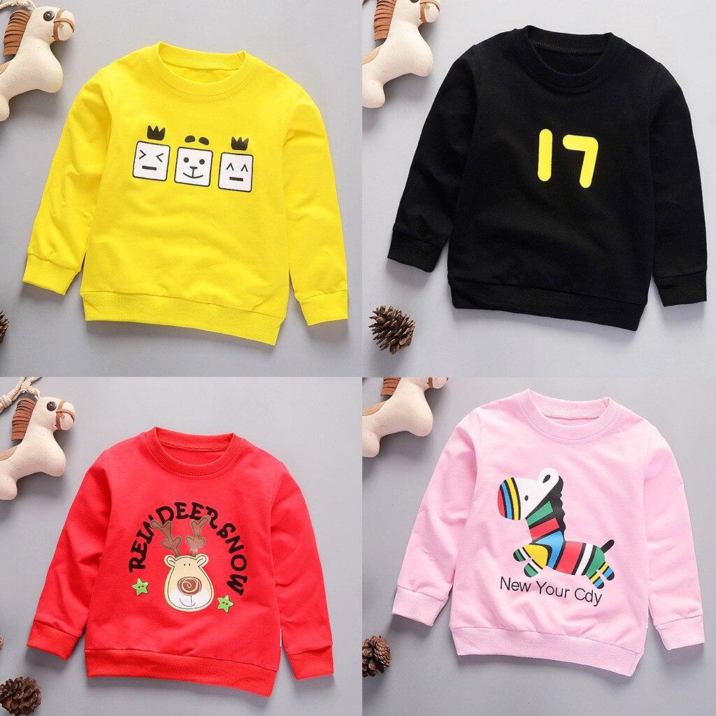 Camisas Camiseta de Tops de Letras Sudadera Pullover beb/é ni/ños ni/ñas Ropa Bebe oto/ño Invierno 2018 Pantalones Conjunto de Ropa