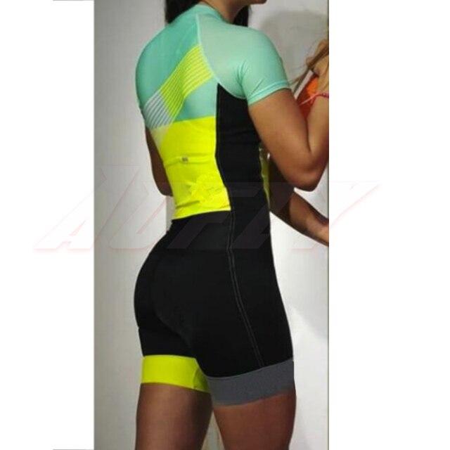 Mulher profissão triathlon terno roupas ciclismo skinsuits conjunto do corpo rosa roupa de ciclismo macacão das mulheres triatlon kits conjunto feminino ciclismo Uma variedade de macacões femininos especiais de alta 4