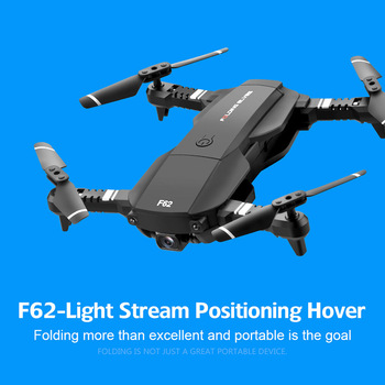 WiFi FPV RC Drone 4K Camera Optical Flow 1080P HD Dual Camera Aerial Video Quadcopter Aircraft helicopter plane kid Toys image