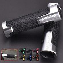 Burgman Handlebar Grip Motorcycle Hand Grips Aluminum Rubber Gel For SUZUKIBURGMAN650400125200250AN650AN400AN125AN200