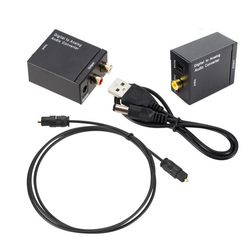 DAC Amplifier Decoder SPDIF Digital to Analog Audio Converter Toslink Coaxial Signal to RCA R/L Audio Decoder SPDIF ATV
