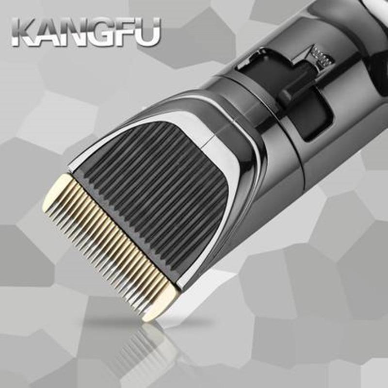 KF T69 Plug In double usage rasoir électrique tondeuses ensemble électrique tondeuses à cheveux ciseaux à cheveux outils de coiffure avec tondeuse - 6