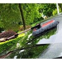 Araba silgi  mikrofiber teleskopik balmumu paspas araba toz silgi araç ev yıkama temizleme aracı