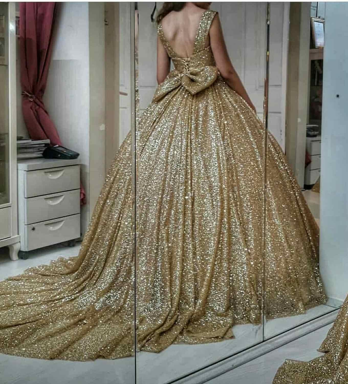 Vestido De Noche Para Senora Elegante Vestido Formal Arabe De Talla Grande Para Fiesta Nocturna De Celebridad 2020 Vestidos De Noche Aliexpress