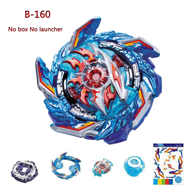 Selling Beyblades Burst Booster B-160 King Helios.Zn 1B Bey Blade Metal Fusion God Spinning Tops