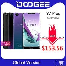 DOOGEE Y7 Plus CellPhone MTK6757 Octa-Core 2.5GHz 6GB RAM 64