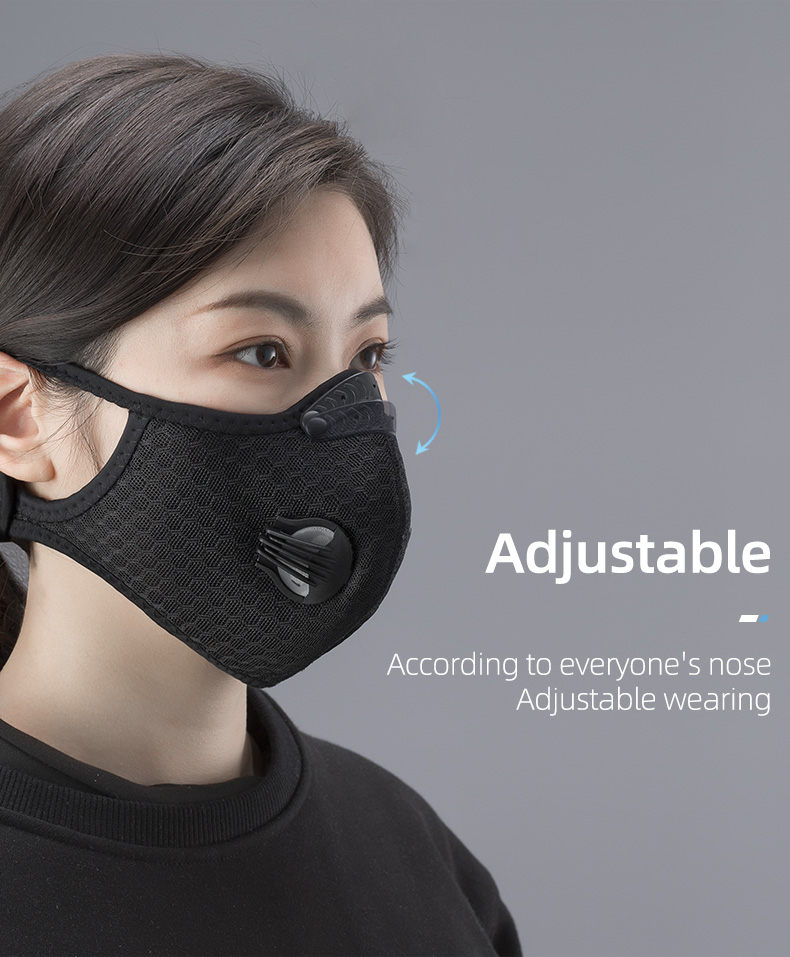 ROCKBROS PM2.5 Face Masks and Filters 9