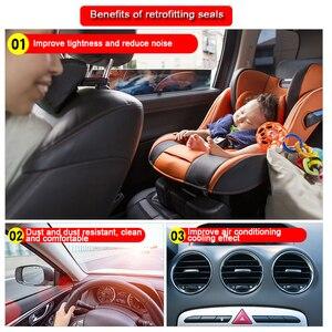 Image 2 - Car Styling Moulding BJ shaped Car Door Seal EPDM Universal Noise Insulation Weatherstrip Sealing Rubber Strip Trim Auto Seals
