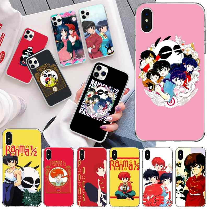 usakpgrt coque souple personnalisee pour iphone compatible modeles 6 6s 6s 8 7 8 11 pro max x 5s se 2020 xr ranma 1 2