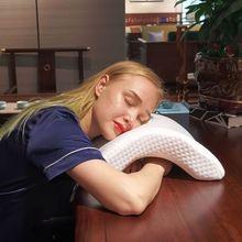 Almohada de espuma viscoelástica para cama, protección del cuello, rebote lento, multifunción, antipresión, para manos, salud, cuello, pareja