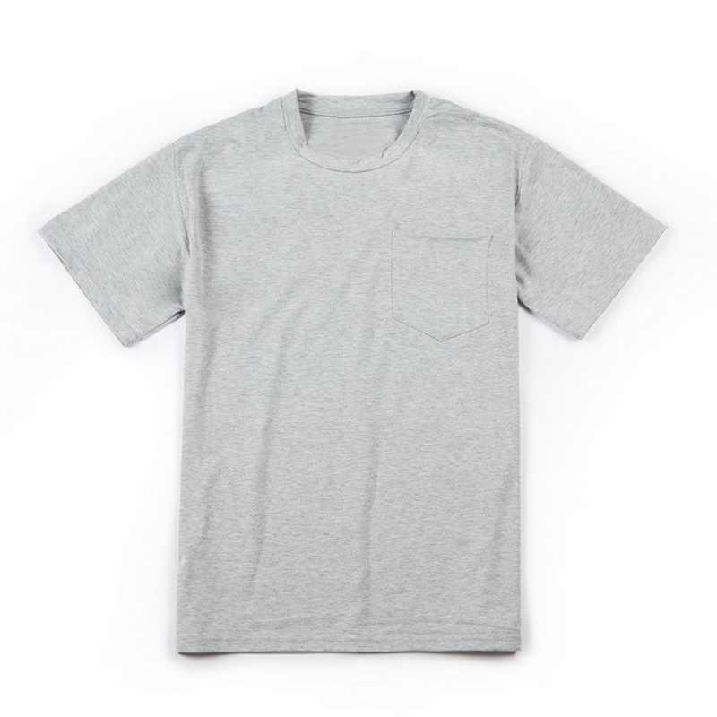 Plus Größe Dünne Tasche T Top Feste Beiläufige T-shirts Mode Plain Böden Männlichen T-Shirts 3XL Männlichen Hiphop Streetwear