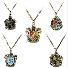 Hot sale harrie Potter necklace cartoon character alloy Plating accessories Fest