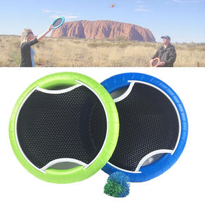 Trampoline Cricket Bat Flying-Disk Slap-Ball Hand with Rubberband Family Sport-Game