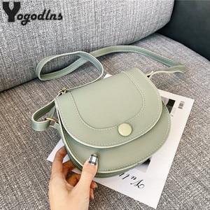 Women Vintage Small Square Bag Ladies Fashion Handbag Retro Shoulder Bags PU Leather Messenger bag Mobile Phone Packet Purse