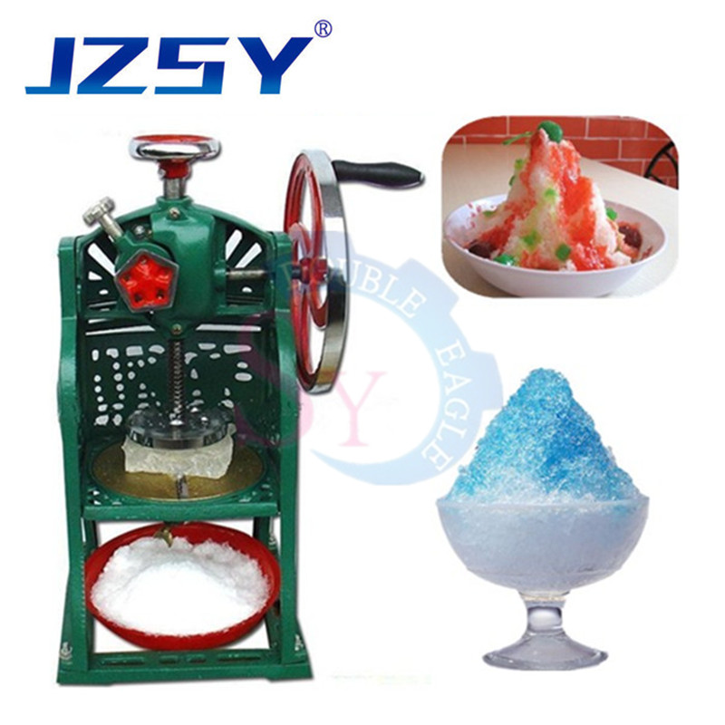Hot Sale Professional Manual Ice Crusher Shavers Ice Block Shaving Machine Hand Ice Chopper Smoothie Machine