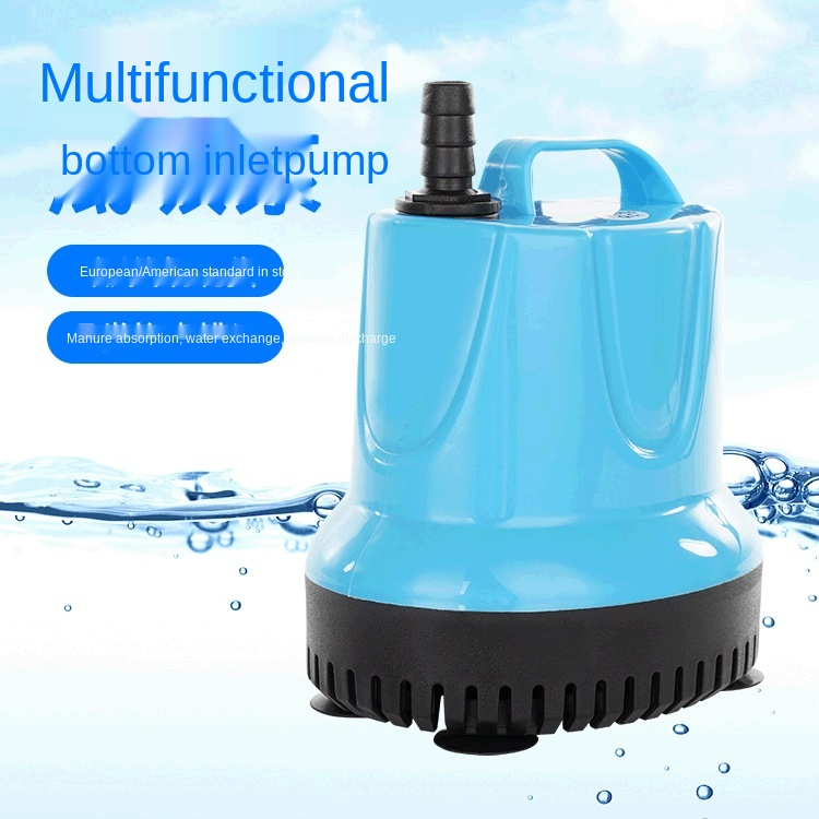 Aquarium Submersible Pump Aquarium Bottom Suction Pump Fountain Rockery Aquarium Cycle110V 220V Submersible Water Pump