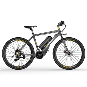 RS600 400W Powerful Electric Bike, 36V 10A/20A Battery, 700C Road Bicycle, Both Disc Brake, Aluminum Alloy Frame, MTB
