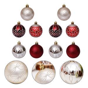 30 шт Рождественская красивая Рождественская елка кулон рождественские шары Висящий Шар украшение для дома Рождественское украшение магаз...