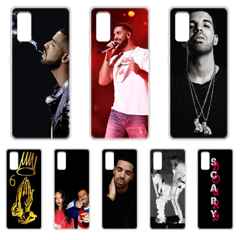Rapper Aubrey Drake Graham Phone Case cover hull For SamSung Galaxy S 6 7 8 9 10 20 Edge Plus E Lite 5G Ultra transparent funda image