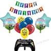 Birthady Ballons Brawles Star Party Supplies Anime Game Latex Ballons Cartoon Printed Full Flag Graduation Party Decor Kids Gift