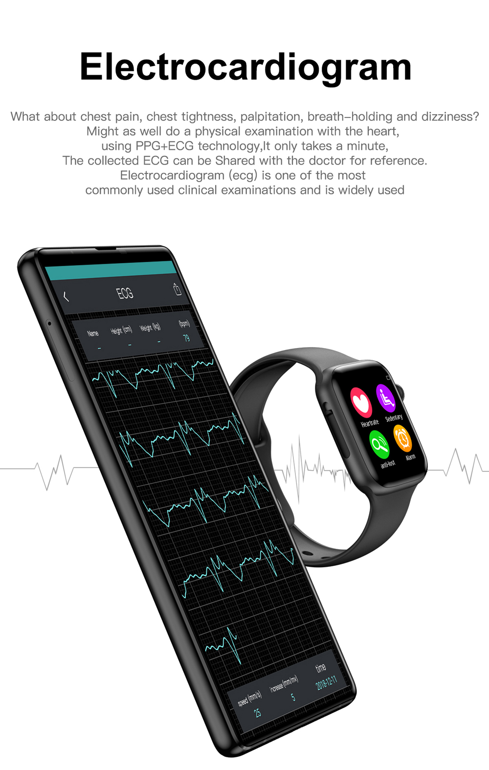 IWO 8 Lite Bluetooth Call Smart Watch ECG Heart Rate Monitor Smartwatch Men Women for Android Apple xiaomi band PK IWO 8 12 Pro