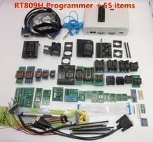 Najnowsze oprogramowanie oryginalny RT809H EMMC Nand FLASH bardzo szybki uniwersalny programator TSOP56 TSOP48 BGA63