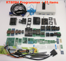 Newest Software ORIGINAL RT809H  EMMC Nand FLASH Extremely fast universal Programmer TSOP56 TSOP48  BGA63