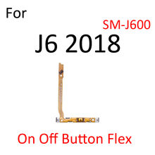 Volume Button Power Switch On Off Key Ribbon Flex Cable For Samsung Galaxy J8 J6 J4 J7 J5 J3 A9 2018 2017 Replacement Parts
